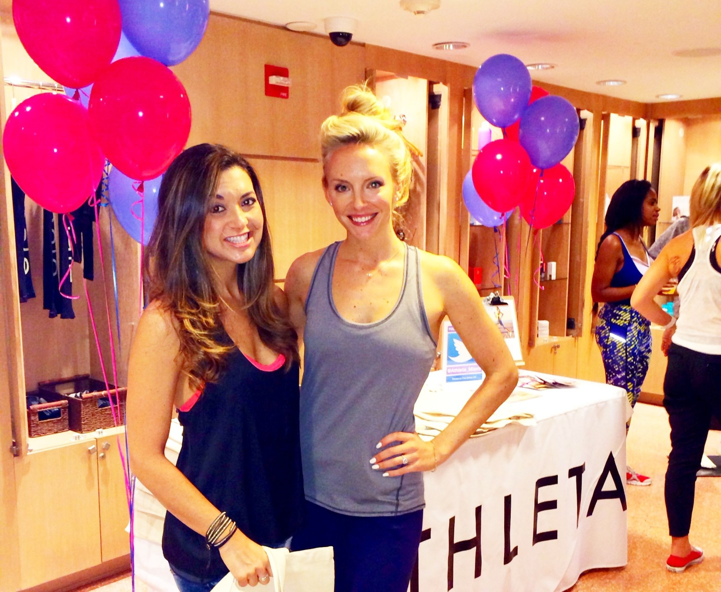 Athleta, Well + Good, and Exhale Fitness Fashion Tour Miami