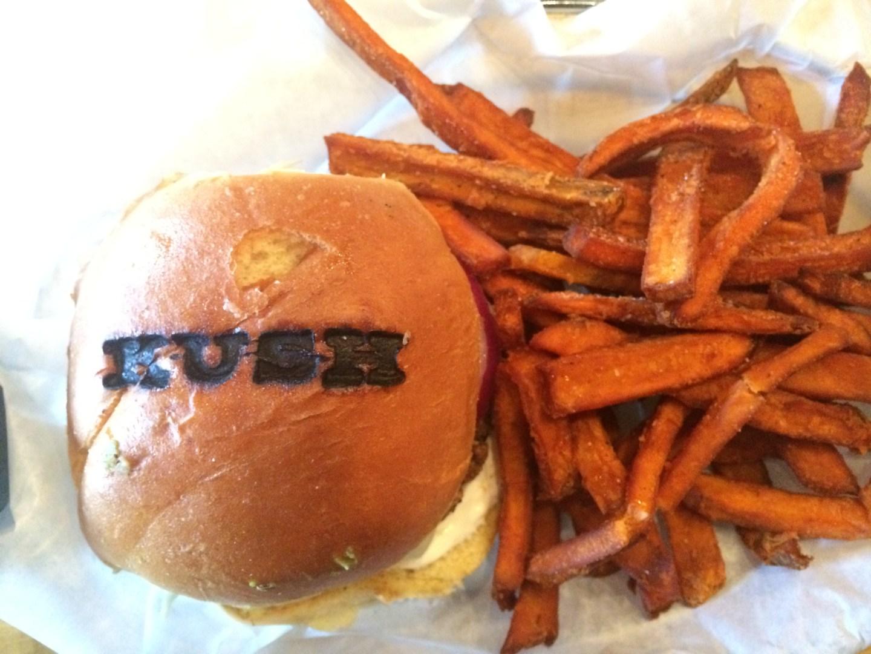 The Best Black Bean Burger in Miami