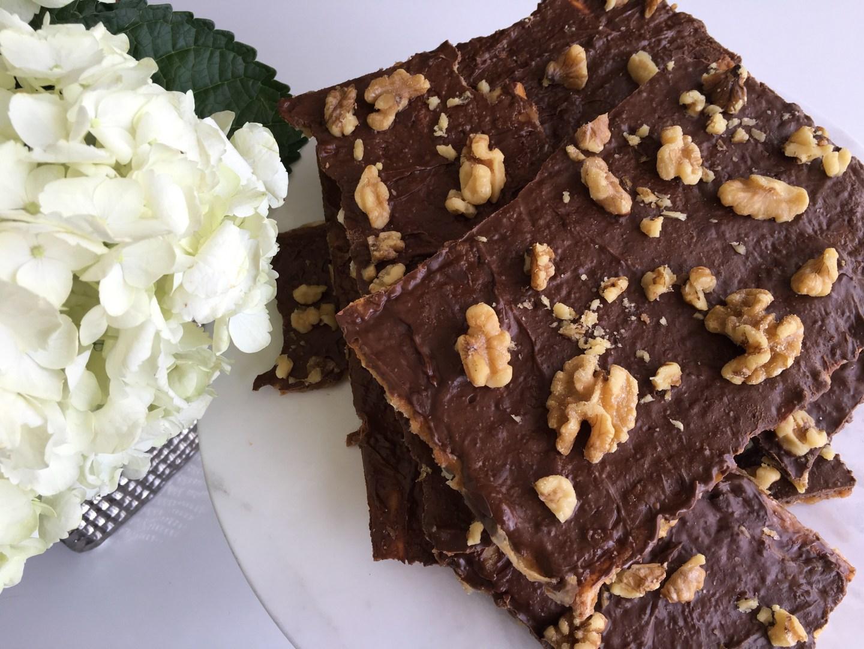 Gluten-Free Chocolate + Grand Marnier Covered Matzo Crack(ers)
