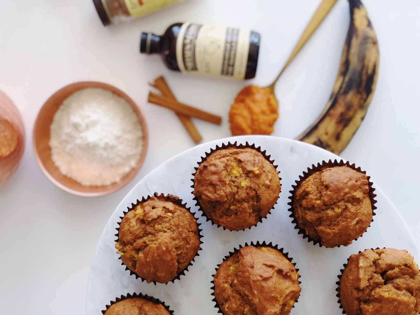 Pumpkin Maduro Plantain Muffins That Are Healthy and Easy To Make