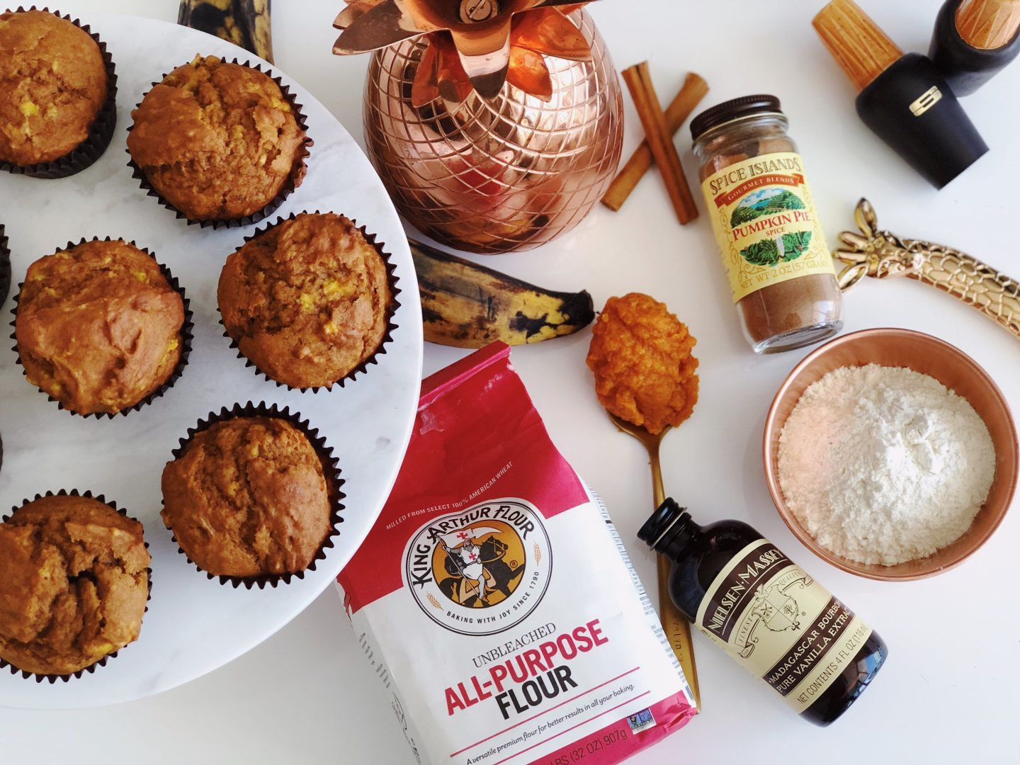 Pumpkin Maduro Plantain Muffins that Are Far From Basic!