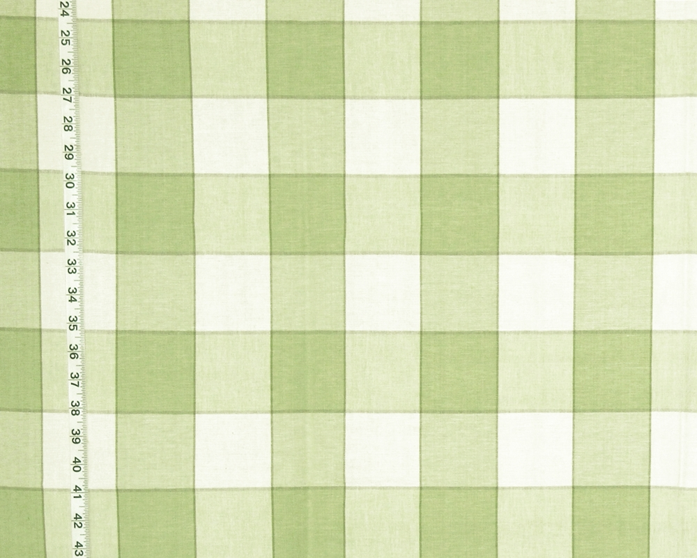 Green Check Fabric for Cabin Decor  Brickhouse Fabrics