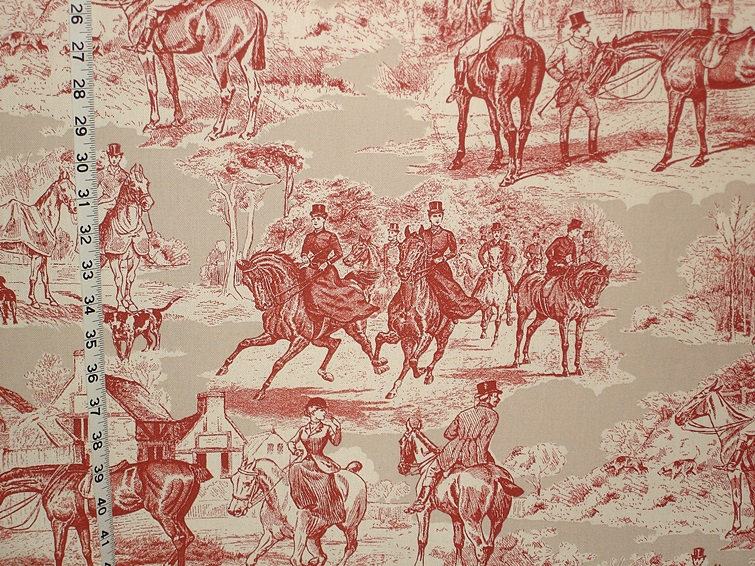Fall In Maine Wallpaper Victorian Horse Toile Fabric New Pattern 09 July 2013