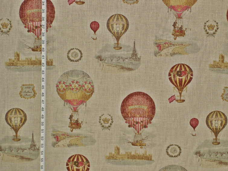 Fall Wallpaper With Deer Hot Air Balloon Fabric Of The Week 21 June 2013