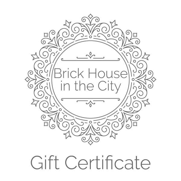 Brick House in the City | Catholic Apparel for Women | Gift Certificate | Gift Card
