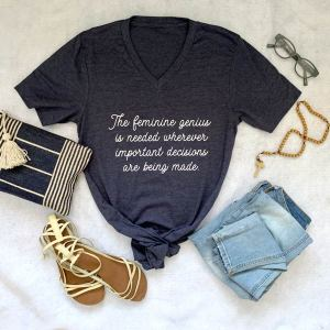 Midnight Navy V-Neck T-Shirt