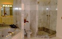 Houston Texas Bathroom Remodel | AAA Masonry and Home ...