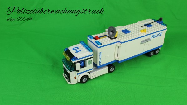 Lego 60044 - Polizeiüberwachungstruck