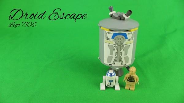 Lego 7106 - Droid Escape