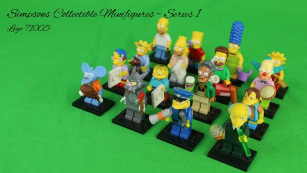 Lego 71005 - Simpsons Sammelfiguren - Serie 1
