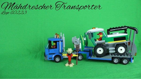 Lego 60223 - Mähdrescher Transporter