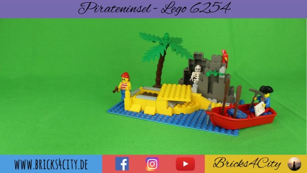 Lego 6254 - Pirateninsel