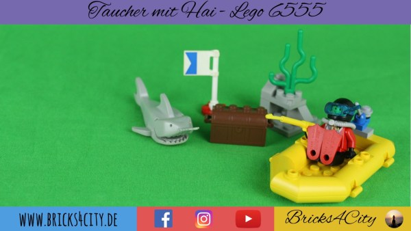 Lego 6555 - Taucher mit Hai