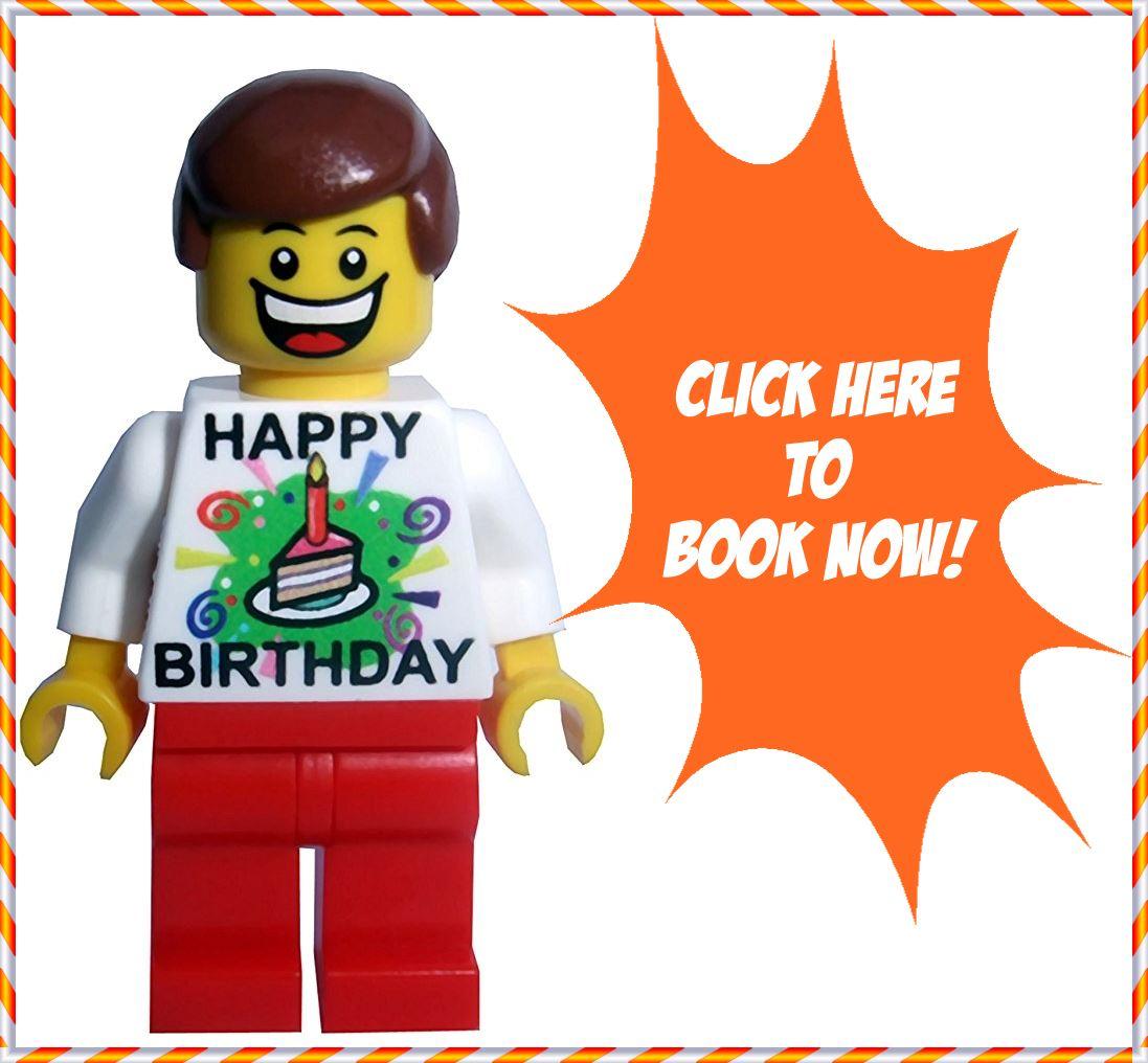 Kids Birthday Party With LEGO Bricks 4 Kidz Melb