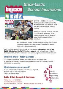 BRICKS 4 KIDZ School Incursions For Education