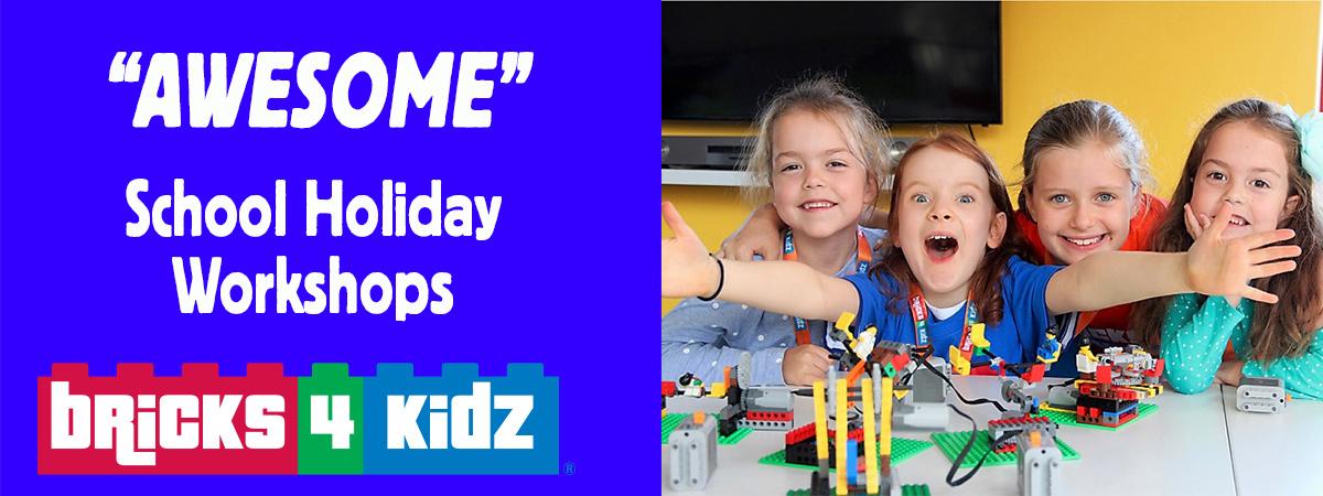 Summer School Holiday Workshops With LEGO BRICKS 4 KIDZ
