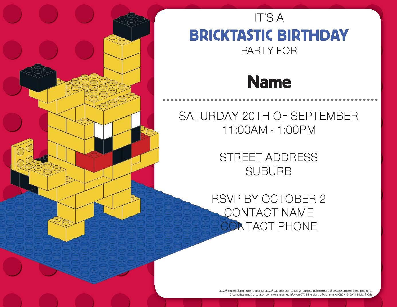 b4k pokemon party invitation