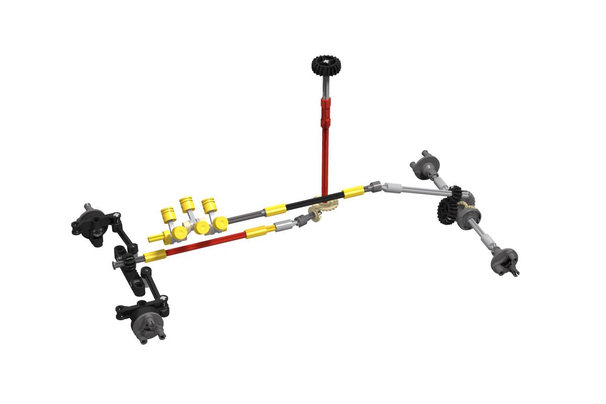 LEGO MOC-26658 42077 Offroad Pickup (Technic > Model > Off