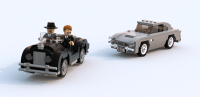 [MOC] Aston Martin DB5 (with instructions) - LEGO Town ...