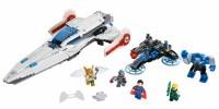 LEGO DC 2015 Darkseid Invasion 76028 Set Photos! Cyborg