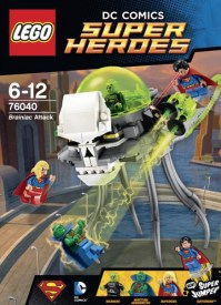 2015 LEGO Brainiac Attack 76040 DC Superheroes Set