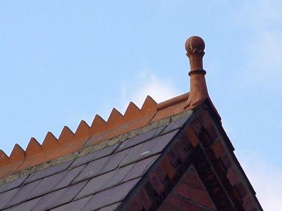 Ridge Tiles in Victorian and Edwardian Houses  Bricks  Brass