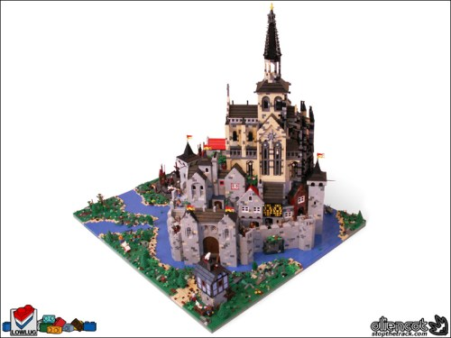 Lego Church Abbey Awesomesauce