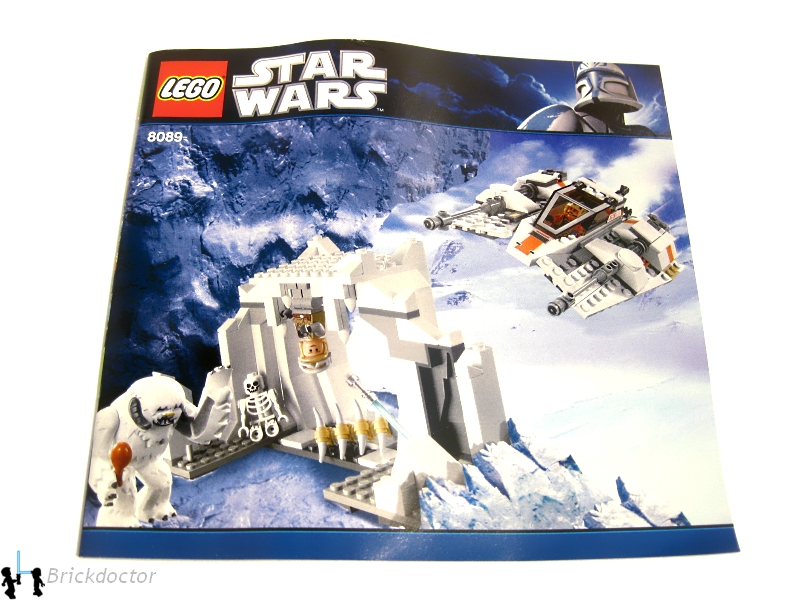 Review 8089 Hoth Wampa Cave Classic Star Wars