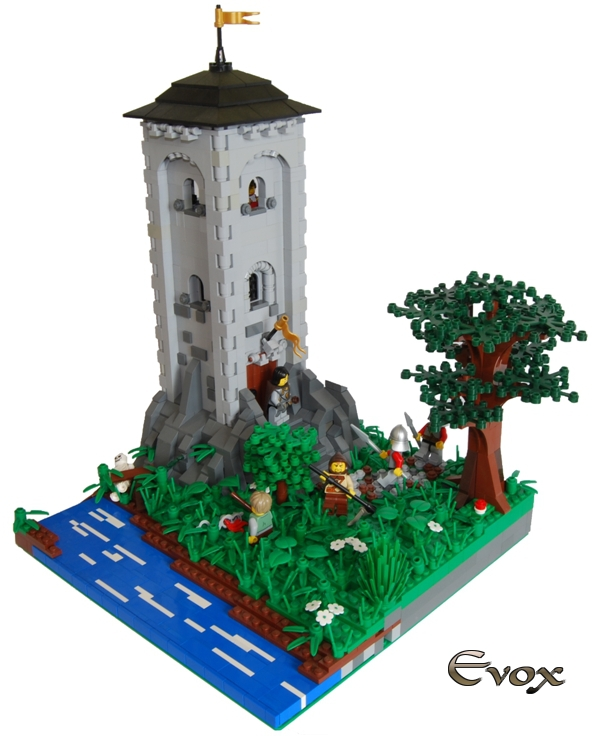 Wieża nad rzeką