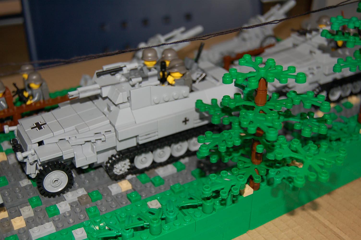 Detalle del diorama