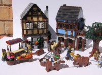 Review: 10193 Medieval Market Village - LEGO Historic ...