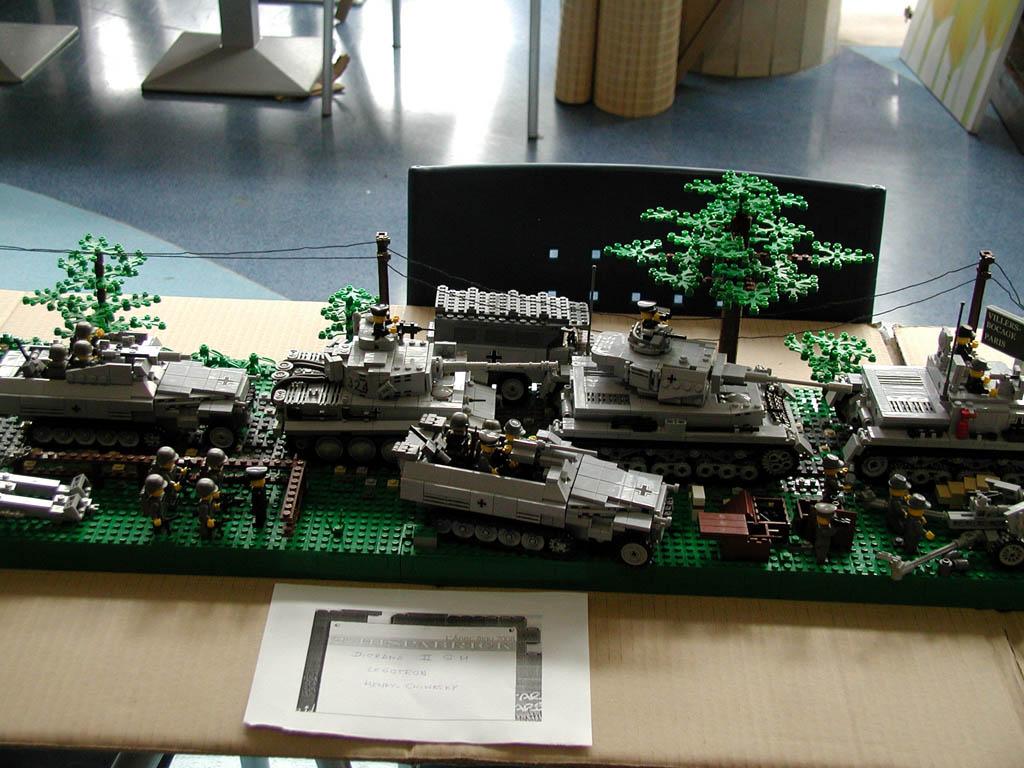 El diorama de Panzerbricks