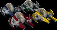 [LDD MOC] Eta-2 Actis-class Light Interceptor - LEGO Star ...