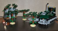 Review: 7626 Indiana Jones - Jungle Cutter - LEGO Licensed ...