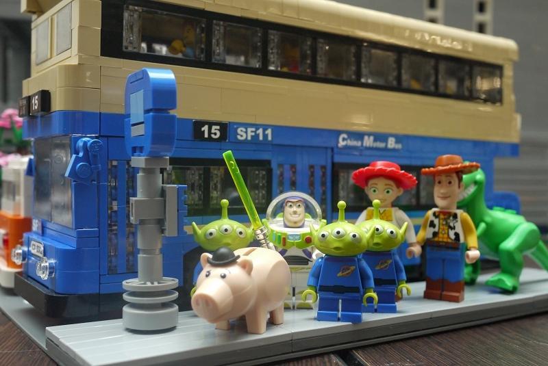 MOC : Daimler SF Fleetline of CMB. Hong Kong - LEGO Town - Eurobricks Forums