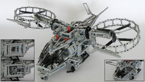 LEGO Technic RDA Gunship