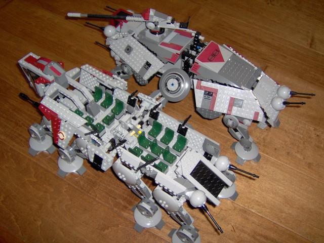Review 10195 Republic Dropship At Ot Lego Star Wars