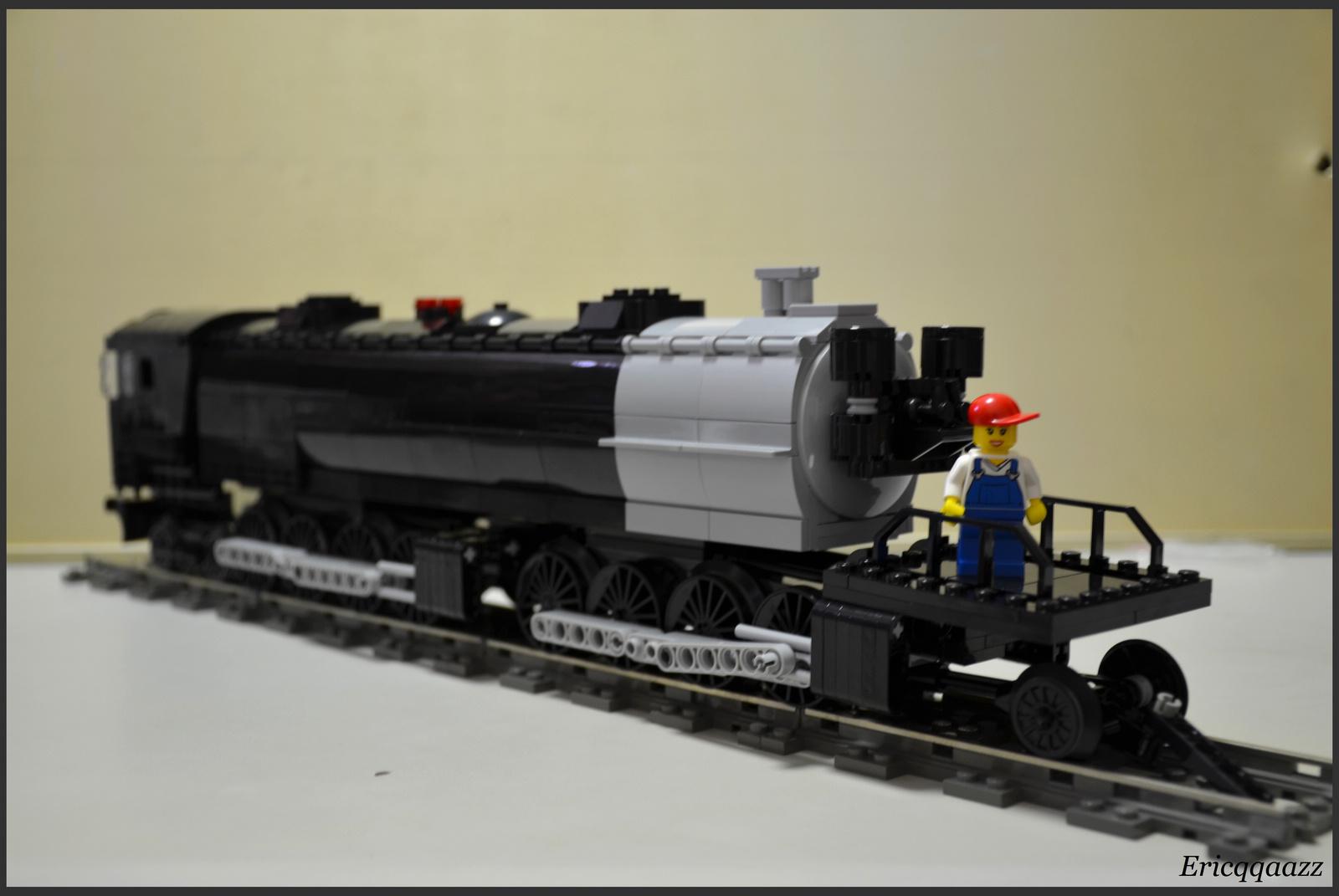 【小E的火車】之SP4294反向蒸汽機車 - 繁華都市 - 玩樂天堂 pockyland