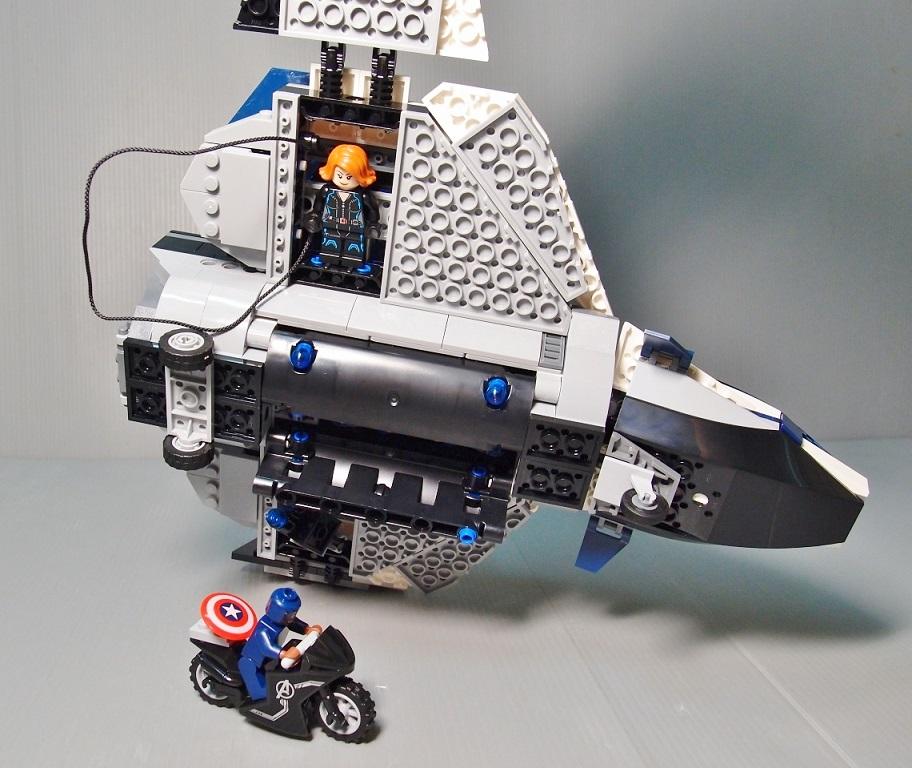 2015 76032 The Avengers Quinjet City Chase 復仇者聯盟 昆式戰鬥機 - SET 開箱鑑賞 - 玩樂天堂 pockyland