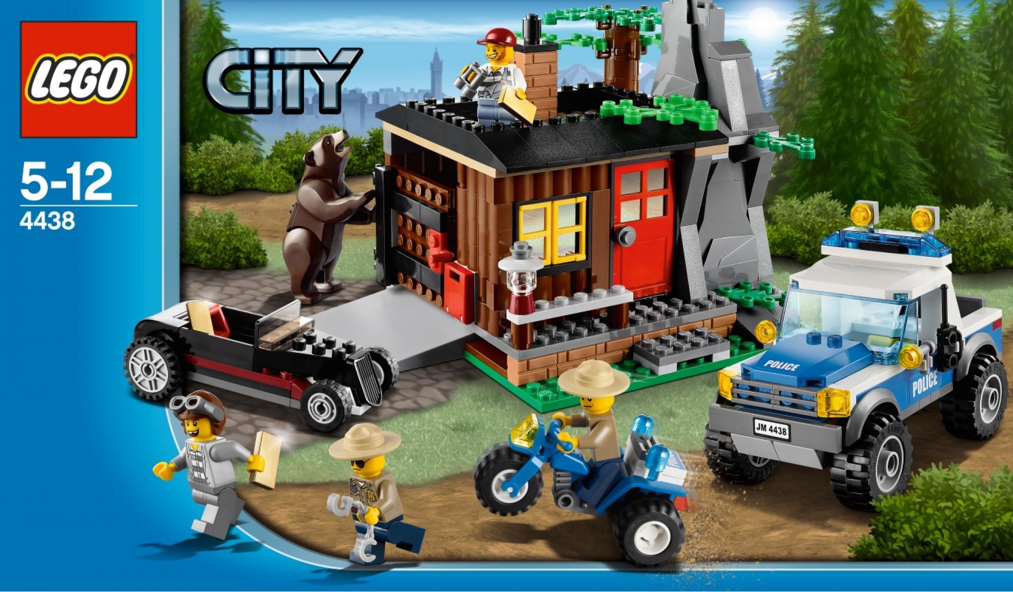2012 LEGO City sets bring hillbillies, bears, forest fires ...
