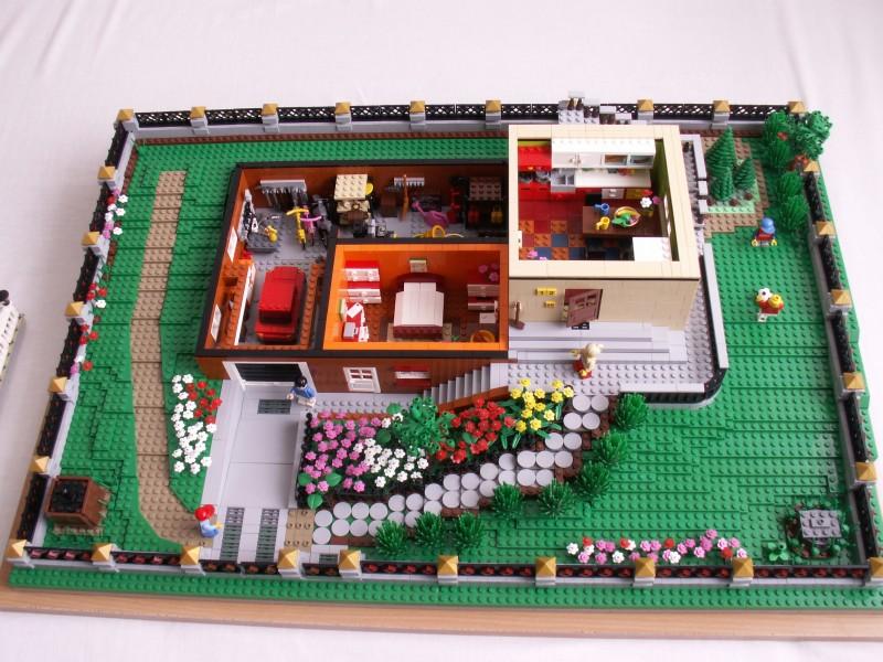 Brick Town Talk Farm House LEGO Town Architecture Building
