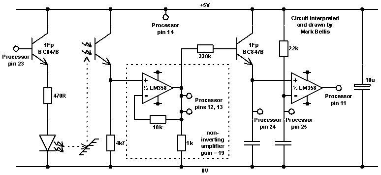 Miranda Lambert Buzz: barcode reader circuit