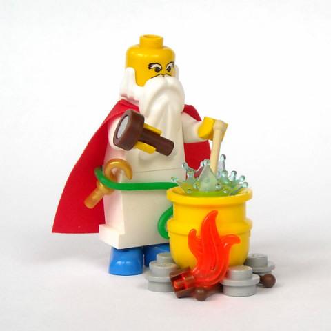LEGO Michael Jasper Miraculix Panoramix