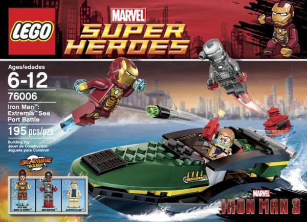 LEGO 2013 76006 Iron Man: Extremis Sea Port Battle