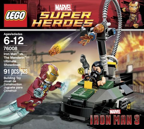 76008 Iron Man vs. The Mandarin: Ultimate Showdown