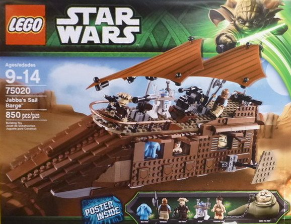 LEGO Star Wars 2013 75020 Jabba's Sail Barge