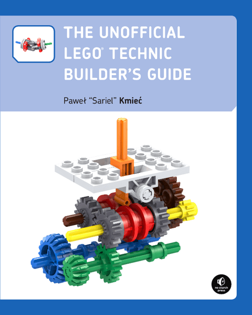 Recenzja: The Unofficial LEGO Technic Builder's Guide