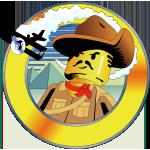 LEGO Adventurers Desert logo