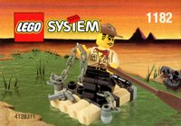 LEGO Adventurers Desert 1182 Adventurers Raft
