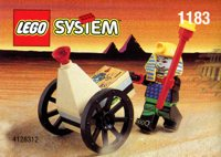LEGO Adventurers Desert 1183 Mummy and Cart